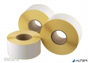 Etikett, thermo, 40x70 mm, 1000 etikett/tekercs