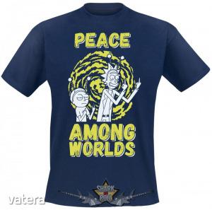 RICK AND MORTY - PEACE. vicces, poen póló