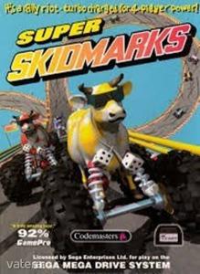 SEGA Mega Drive Játék Super Skidmarks