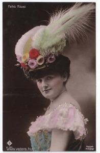 Felhő Rózsi, színészlap, 1910 körül