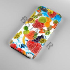 gyümölcs mintás Samsung Galaxy A40 tok hátlap tartó