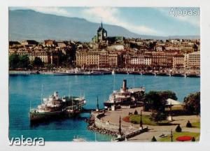 12db külföldi retró képeslap egyben, Rijeka, Geneve, Marktbreit, Marienkron, Barcelona, Göteborg,stb - 2400 Ft - (meghosszabbítva: 2920035305) Kép