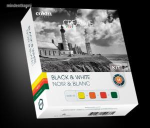 Cokin 4 Black & White szűrő szett