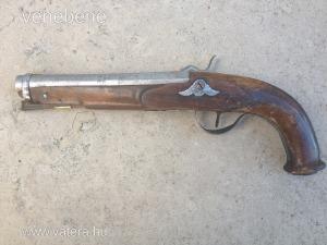 Antik elöltöltős pisztoly