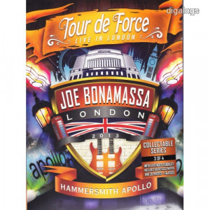Joe Bonamassa Tour De Force  Hammersmith DVD Új!