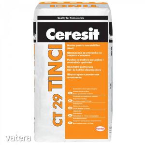 Vékonyvakolat és réskitöltő glettanyag C29