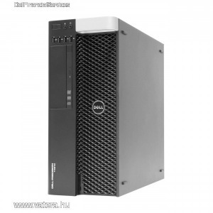 Dell T5610, s2011 2 db E5-2620v2  16 Gb ddr3, HA AZ I7-7700 NEM ELÉG, ITT NÉZZ KÖRBE!   videoval!