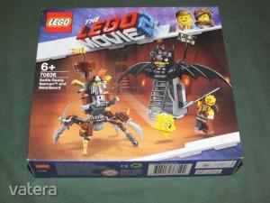 LEGO 70836 The LEGO Movie - Harcra kész Batman és Fémszakáll - ÚJ! BONTATLAN!