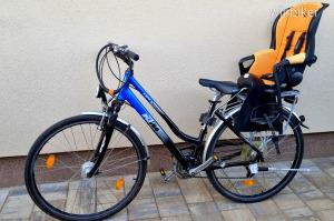 KTM LIFE trekking városi túrakerékpár túra kerékpár bicikli női váz 28 - + gyerekülés + FELSZERELVE
