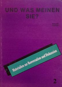 Balázsik; Szablyár: Und was meinen sie? 2.